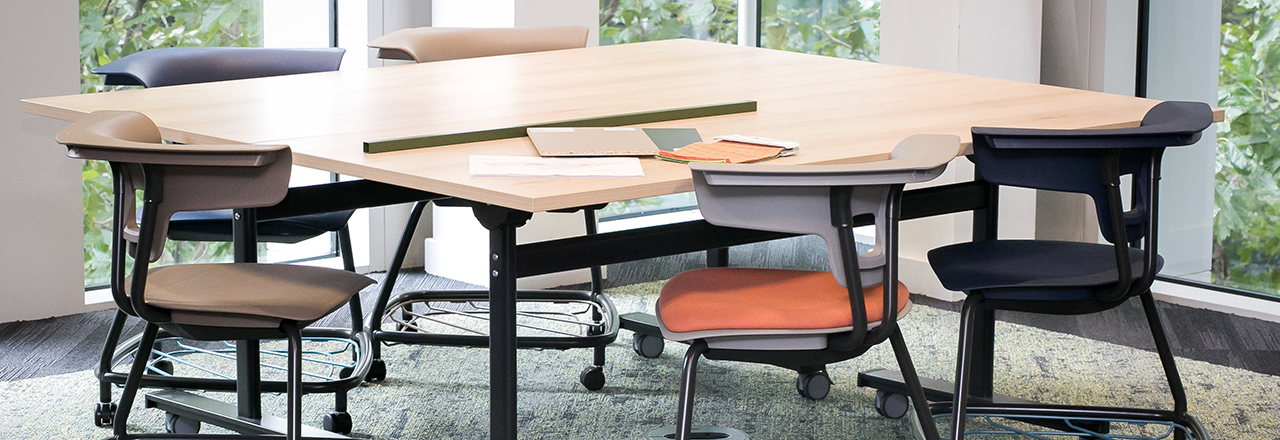 Scrum Flip Top Tables